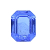 Vintage Swarovski 4610/2 TC Octagon Fancy Stone 10x8 Sapphire Unfoiled (72 Pieces) - CLEARANCE