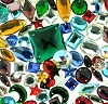 Glass Jewel (w/ holes) Explosion Assortment (6 oz Bag)