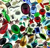 Glass Jewel (No hole) Explosion Assortment (6 oz Bag)