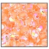Round Fire Polished Bead #3150 4mm Crystal Orange Lined AB (1,200 Pieces)  - CLEARANCE