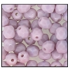 Round Fire Polished Bead #3150 4mm Opaque Amethyst (1,200 Pieces) - CLEARANCE