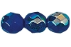 Round Fire Polished Bead #3150 5mm Opaque Blue AB (1,200 Pieces) - CLEARANCE