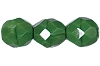 Round Fire Polished Bead #3150 5mm Opaque Green (1,200 Pieces) - CLEARANCE