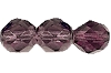Round Fire Polished Bead #3150 5mm Amethyst (1,200 Pieces) - CLEARANCE