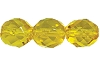 Round Fire Polished Bead #3150 5mm Citrine (1,200 Pieces) - CLEARANCE
