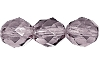 Round Fire Polished Bead #3150 5mm Light Amethyst (1,200 Pieces) - CLEARANCE