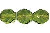 Round Fire Polished Bead #3150 5mm Olivine (1,200 Pieces) - CLEARANCE