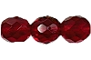 Round Fire Polished Bead #3150 5mm Ruby (LOOSE) (1,200 Pieces) - CLEARANCE