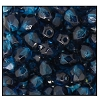 Round Fire Polished Bead #3154 4mm Capri Blue/Sapphire (1,200 Pieces) - CLEARANCE