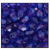 Round Fire Polished Bead #3154 4mm Dark Sapphire/Purple (1,200 Pieces) - CLEARANCE