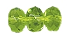 Fire Polished Doughnut Rondelle Bead #3655 9mm Peridot (300 Pieces)