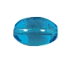 Rounded Oval Beads #4152 Aqua 15x10mm (600 Pieces)