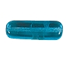 Flat Rectangle Beads #4156 Aqua 17x6mm (300 Pieces)