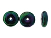 Druk Rondelle Glass Beads #4250 Green Iris 4mm (1,200 Pieces)