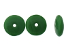 Druk Rondelle Glass Beads #4250 Green Opaque 4mm (1,200 Pieces)