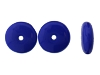 Druk Rondelle Glass Beads #4250 Royal Blue Opaque 4mm (1,200 Pieces)