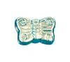 Butterfly Beads #4691 Aqua AB 8mm (600 Pieces)