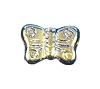 Butterfly Beads #4691 Jet AB 8mm (600 Pieces)