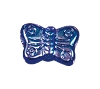 Butterfly Beads #4691 Sapphire AB 8mm (600 Pieces)