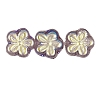 Flower Beads #4705 Amethyst AB 8mm (Side Holes) (600 Pieces)