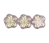Flower Beads #4705 Light Amethyst AB 8mm (Side Holes) (600 Pieces)