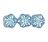 Flower Beads #4705 Light Sapphire AB 8mm (Side Holes) (600 Pieces)