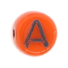 Glass Letter Bead #7300 Rust 6mm (1,200 Pieces) - CLEARANCE