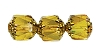 Cathedral Beads #7532 Citrine Shine 8mm (600 Pieces)