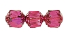 Cathedral Beads #7532 Hot Pink Shine 8mm (600 Pieces)