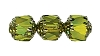 Cathedral Beads #7532 Olivine Shine 8mm (600 Pieces)