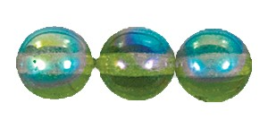 Druk Smooth Round Beads #4150 4MM Olivine AB (1,200 Pieces)