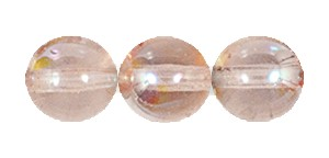 Druk Smooth Round Beads #4150 6MM Rose AB (1,200 Pieces)