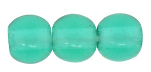Druk Smooth Round Beads #4150 4MM Blue Zircon (1,200 Pieces) - CLEARANCE