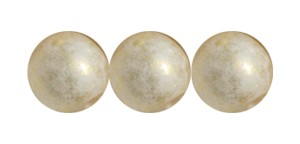 Decora Druk Smooth Round Beads #4151 6MM Antique Gold (1,200 Pieces)