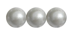 Decora Druk Smooth Round Beads #4151 6MM Antique Silver (1,200 Pieces)
