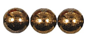 Druk Smooth Round Beads #4150 7mm Bronze (600 Pieces) (LOOSE) - CLEARANCE