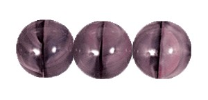 Ombre Druk Smooth Round Beads #4158 4MM Grey/Pink (1,200 Pieces)