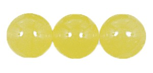 Druk Smooth Round Beads #4150 6mm Lemon Opal (1,200 Pieces) (LOOSE) - CLEARANCE