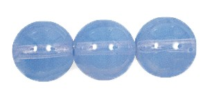 Druk Smooth Round Beads #4150 5mm Light Blue Opal (1,200 Pieces) - CLEARANCE