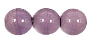 Druk Smooth Round Beads #4150 5mm Opaque Amethyst (1,200 Pieces) - CLEARANCE
