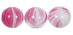 Druk Smooth Round Beads #4150 5mm Pink Quartz (1,200 Pieces) - CLEARANCE