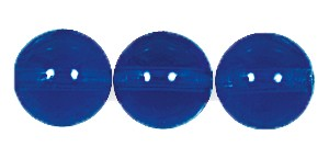 Druk Smooth Round Beads #4150 12mm Sapphire (300 Pieces) (LOOSE) - CLEARANCE