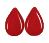 Tear Drop Pendants #3802 Cherry Red 8x12mm (1,200 Pieces)