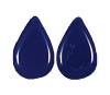 Tear Drop Pendants #3802 Opaque Navy Blue 8x12mm (1,200 Pieces)