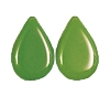 Tear Drop Pendants #3802 Opaque Green 8x12mm (1,200 Pieces)