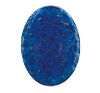 Fancy Glass Jewel #1685 18x13mm Lapis (24 pieces)