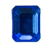 Glass Jewel #5107 Rectangle 10x8mm Sapphire (288 Pieces)