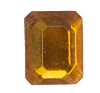 Glass Jewel #5107 Rectangle 10x8mm Topaz (288 Pieces)