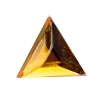 Glass Jewel #5158 Triangle 13x13mm Topaz (288 Pieces)