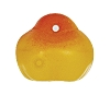 Glass Apple Pendant #9004 Yellow 12mm (300 Pieces) - CLEARANCE